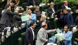 Iran parliament clears oil, foreign ministers for new cabinet