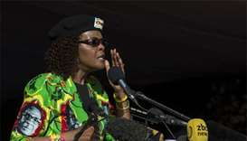 Grace Mugabe returns home after getting diplomatic immunity
