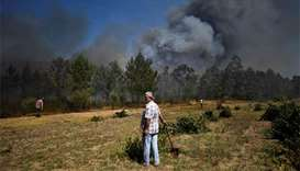 Pilot feared dead after chopper fighting Portugal fires crashes
