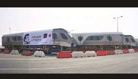 First batch of Doha Metro trains arrives