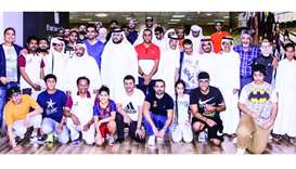 Nakilat hosts bowling event for the blind