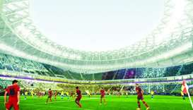 The design of Al Thumama Stadium is inspired by the gahfiya