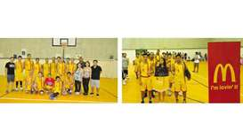 McDonald's Qatar bags second place in annual basketball tournament