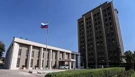 Russia says embassy in Syria hit by rebel mortar attack