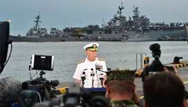 Remains of some US sailors found on warship