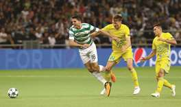 Celtic survive Astana to reach Champions League group stage