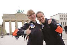 Two women vie to become Germany's first female astronaut
