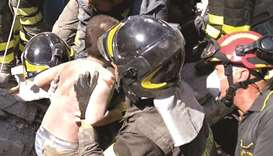 Two die in Italian quake, brothers rescued