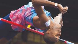 The only target I have is the world record: Barshim