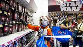 Disney taps augmented reality for 'Star Wars' toy event