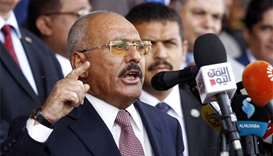 Yemen's Houthi rebels fear 'coup', says Saleh