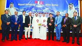 Nepalese expats show their solidarity and love for Qatar