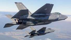 F-35 stealth fighters