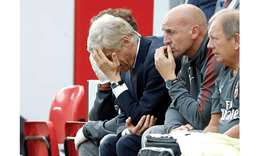 Wenger hits out at 'disastrous' showing