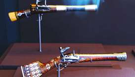 Pistols used by the Ottomans.