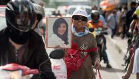 Whereabouts of former Thai PM Yingluck unknown, minister says