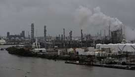 Flooding knocks out US refineries, crude hit by supply disruptions