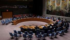 The United Nations Security Council sits to meet on North Korea after their latest missile test, at