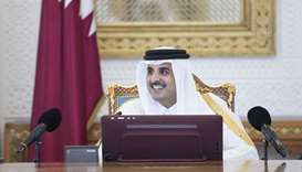 Emir calls for self-reliance in economic, security fields