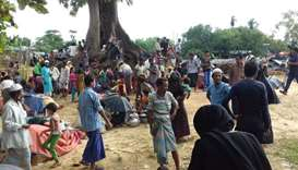 Rohingya people find refuge at Kutupalong refugee camp near the town of Ukhia in Bangladesh's Cox's