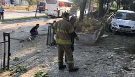 Several wounded after blast hits bus in Turkey's Izmir