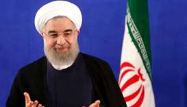 Iran's Rouhani sworn in for second term