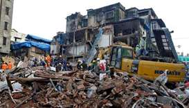 21 killed as old Mumbai building collapses after rains