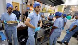 Egyptian doctors open operating room-themed restaurant