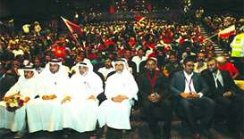 Indian community event shows solidarity with Qatar