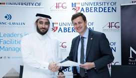 AFG College partners with Canadian firm for facilities management services