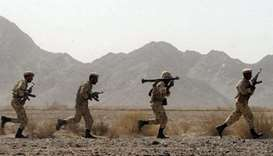 Iran's Guards clash with militants on western border, two killed