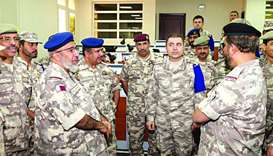 Qatari and Turkish forces end 'Iron Shield' exercise