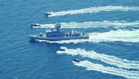 Qatar, Turkey conclude joint maritime exercise