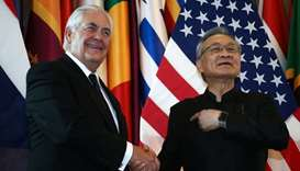 Tillerson in Thailand as US ties improve