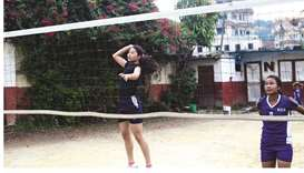 Volley fever takes over Nepal