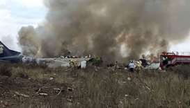Passengers recount escape from burning Mexican plane