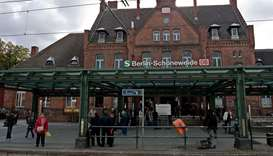 Schoeneweide train station