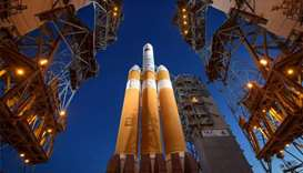 Nasa blasts off on historic probe to 'touch Sun'