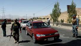 Taliban kill nine police in checkpoint assault