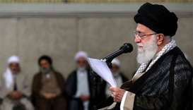 Khamenei says 'no war, no negotiations with the US'