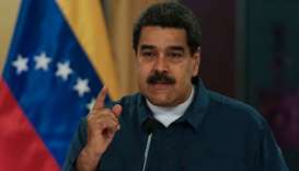 Venezuela says two military officials arrested over drone blasts