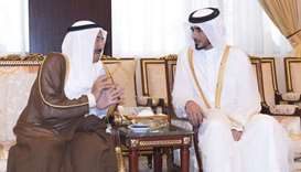 Amir offers condolences to Kuwaiti leader