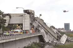 More than 30 feared dead in Italian bridge collapse