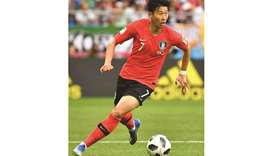 South Korea's Son Heung