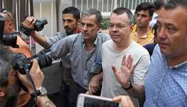 Turkey court rejects new appeal to free US pastor