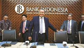 Indonesia increases rates, to defend beleaguered currency