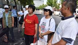 Chinese MH370 relatives ask to meet Malaysia PM