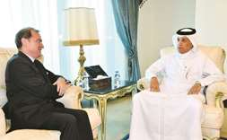 Minister meets French ambassador