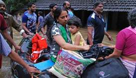 Kerala flood toll soars to 164, rescue work stepped up