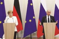 Merkel does not expect much from meeting with Putin
